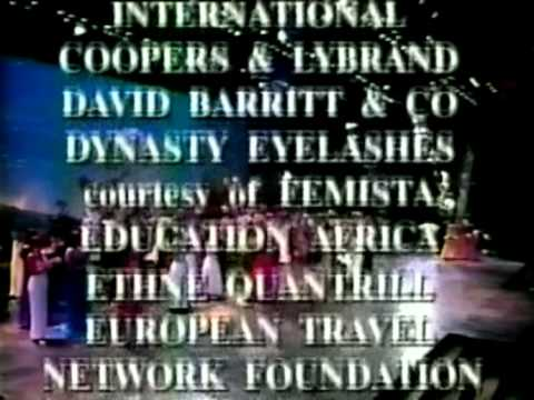 Miss World 1994 Video