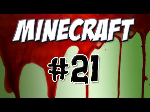 Minecraft - Part 21: Ceiling Construction Interrupted