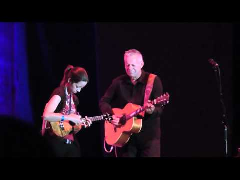Thumbnail of video Tommy Emmanuel and Brittni Paiva duet California Worldfest