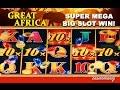 Great Africa Slot  - **SUPER MEGA BIG SLOT WIN** - Slot Machine Bonus