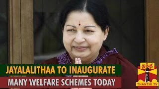 Watch Jayalalithaa To Inaugurate Many Welfare Schemes Today Red Pix tv Kollywood News 24/May/2015 online