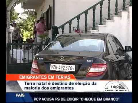 Terra natal é destino de eleição para a maioria dos emigrantes (agosto 2009)