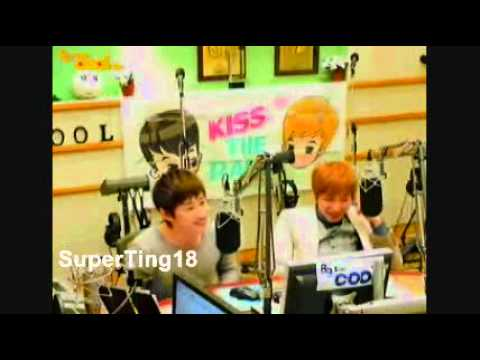 [110211] Sukira - Eunteuk dancing Bobeepbobeep + laughing wildly!