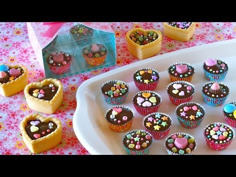 How to Make Chocolate Cups (for Valentine's Day Recipe) | OCHIKERON | Create Eat Happy :)