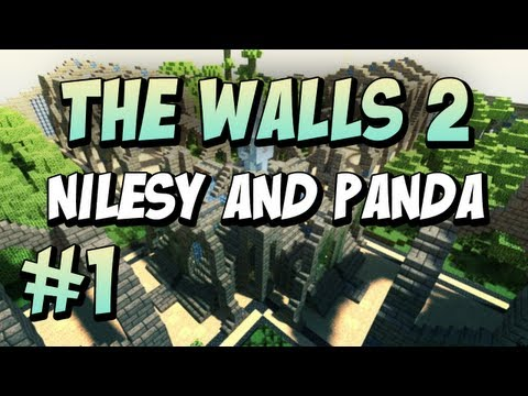 Minecraft: The Walls: Nilesy &amp; Panda: #1!