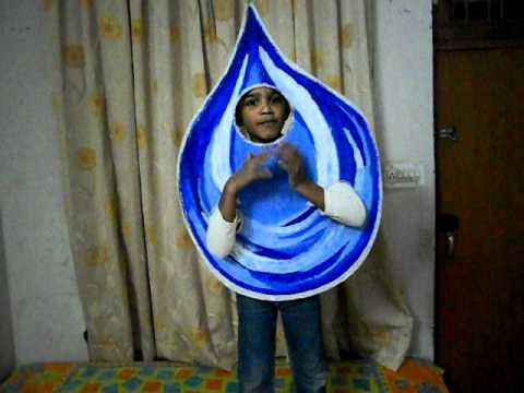 Fancy Dress Water Water Drop Fancy Dress October