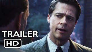 Allied Official Trailer #1 (2016) Brad Pitt, Marion Cotillard Action Drama Movie HD