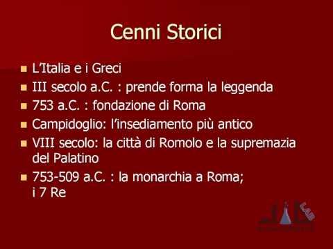 videocorso archeologia e storia dell'arte romana - lez 1 - parte 2