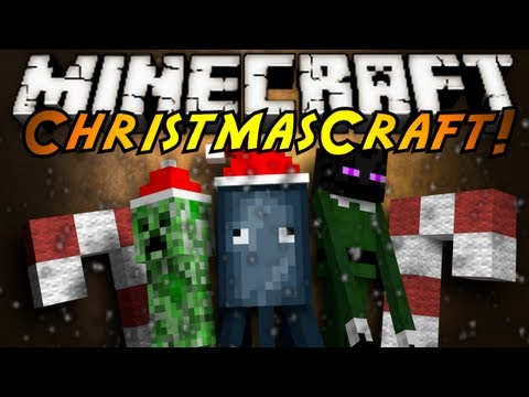 Minecraft Mod Showcase : CHRISTMASCRAFT!