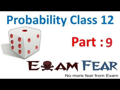 Maths Probability part 9 (Example Continuous function) CBSE Mathematics XII 12