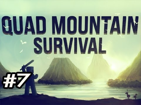Minecraft: Quad Mountain Survival w/Nova Ep.7 - Chased Into The Woods Again