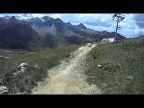 VTT Freeride UCPA Val d'Isere 2011