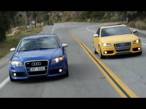 2010 Audi S4 vs. 2007 Audi RS4