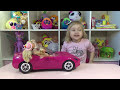 Фрагмент с конца видео Машина для куклы Барби Штеффи Дэфа Лаки Car for Barbie doll Steffi DEFA Lucy