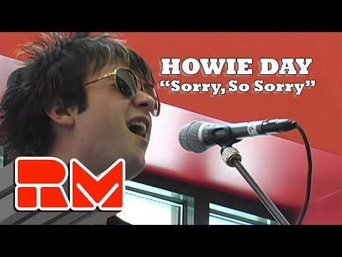 Howie Day - Sorry So Sorry Live Acoustic (RMTV Official)
