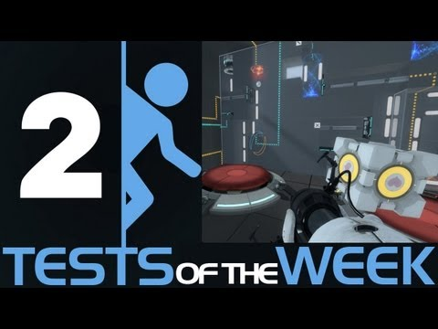 Portal 2 Tests of the Week - Kate Nash, Escorts and Quantum Entanglement