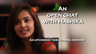 Hashika – An Upcoming Heroine And A Multi-Talented Artist Talks To U