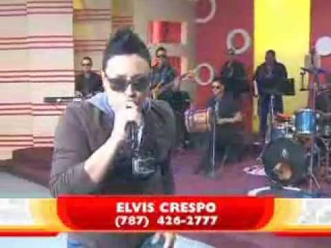 Elvis Crespo - Vallenato En Karaoke (En Vivo) 2012