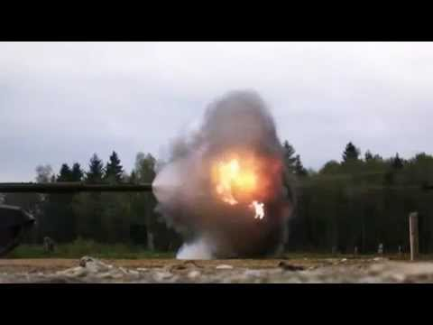 Amazing - Tank Firing in Slow Motion 18000 FPS