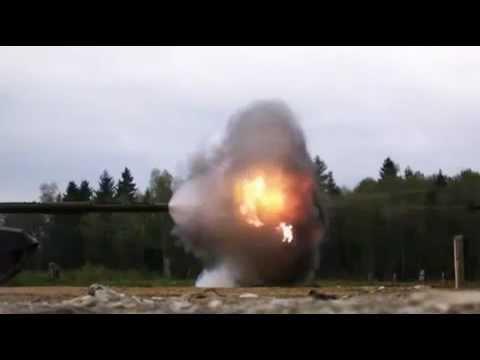 Amazing - Tank Firing in Slow Motion 18000 FPS