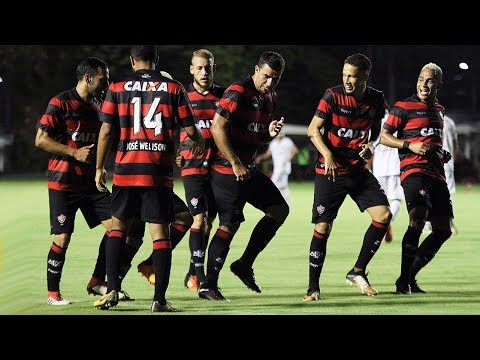 Veja os gols de Vitória 3 x 0 Corumbaense