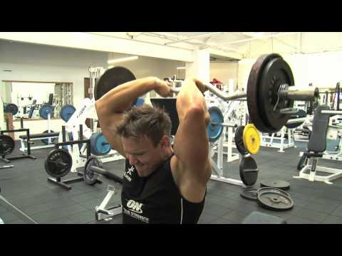 Rob Riches WBFF Fitness Model Contest Prep. 10 Weeks Out - Triceps