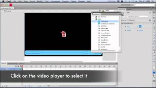 Create a Flash video player for HTML5 fallback