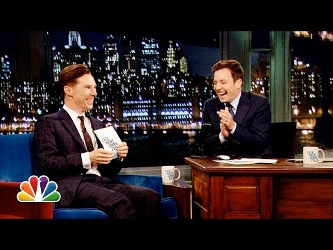 Alan Rickman-off at Late Night with Jimmy Fallon