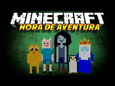 Hora De Aventura - Mod De Minecraft