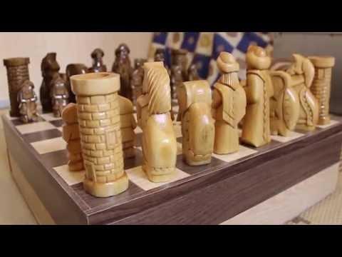 Как своими руками сделать шахматы своими руками из дерева 80