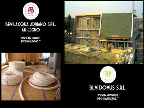 Casa passiva in legno video/foto - www.ablegno.it - www.blmdomus.it