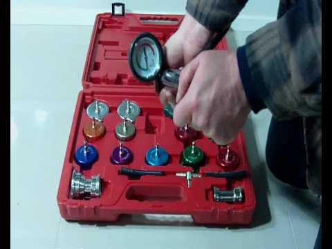 Universal Radiator Pressure Cooling System Leak Tester
