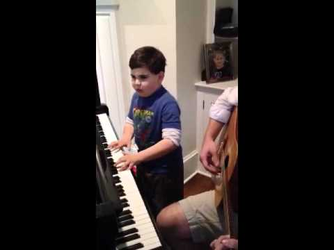 Ethan W and Piano Man