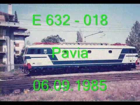 E 632 E 633 E652 LOCOMOTORI NELLE FORME E NEI COLORI DEGLI ANNI '80. P 7/8 LE TIGRI