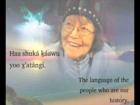 Jessie Johnnie on Learning the Tlingit Language