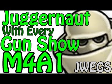 MW3: Juggernaut with Every Gun Show M4A1 (Modern Warfare 3 Gameplay/Commentary)