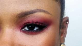 Simple Red Eyeshadow Tutorial