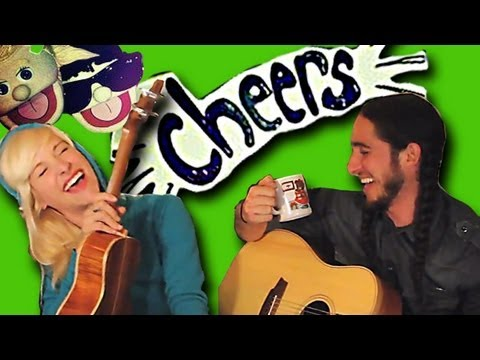 CHEERS (Drink To That) by Gianni and Sarah [Walk off the Earth]