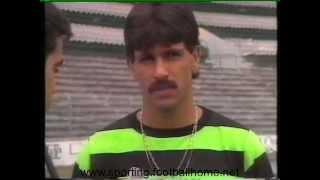 Entrevista a Paulinho Cascavel no final da época 1988/1989
