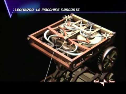 Il segreto dell'automobile robot nel Codice Atlantico di Leonardo da Vinci