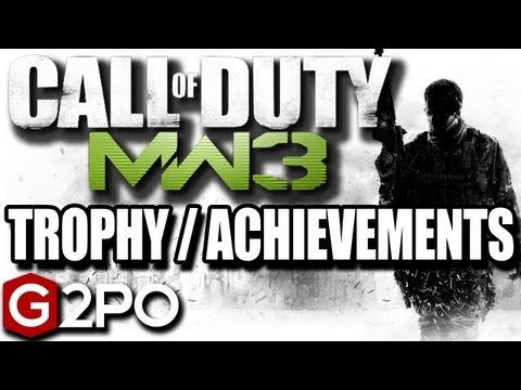 MW3 Nein Trophy/Achievement Guide