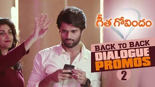 Geetha Govindam Back to Back Dialogue Promos 2