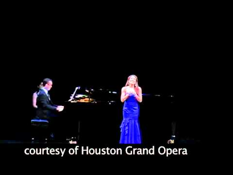 HGO Concert of Arias 2012 - First-place winner Andrea Carroll