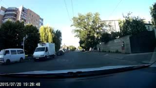 Жуткая авария в Житомире. Запись с видеорегистратора