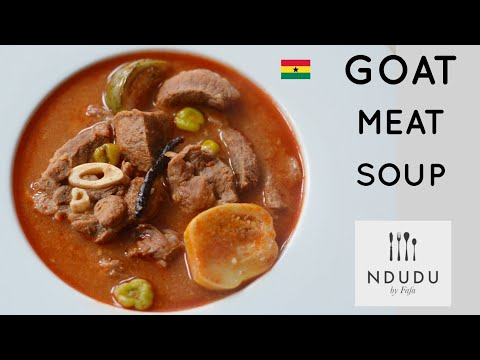 HOW TO PREPARE THE TASTIEST GOAT MEAT LIGHT SOUP RECIPE
