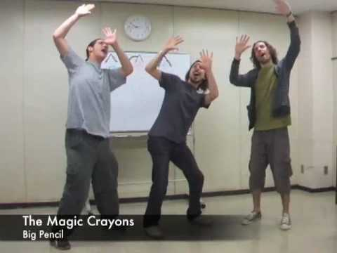 Classroom Objects Song by The Magic Crayons - Kindergarten Songs - Big Pencil