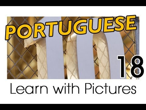 Learn Portuguese with Pictures -- Simple Numbers in Brazilian Portuguese