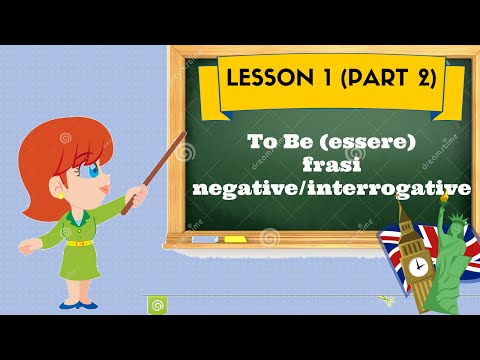 Corso d'inglese- lesson1 (part 2)