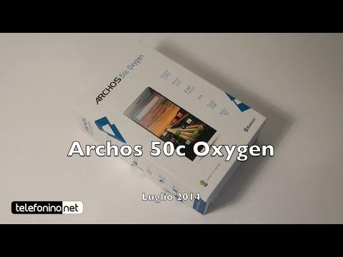 Archos 50c Oxygen la recensione di Telefonino.net