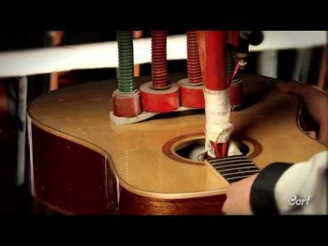 Cort Acoustic Guitar Factory Tour - See how their acoustic guitars are made